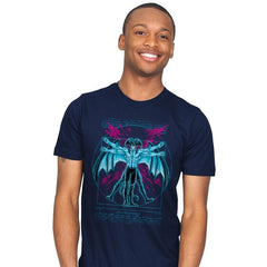 Vitruvian Devil - Mens - T-Shirts - RIPT Apparel