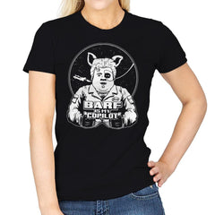 Barf Is My Copilot - Womens - T-Shirts - RIPT Apparel
