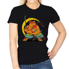 Yakuza Bear Samurai - Womens - T-Shirts - RIPT Apparel