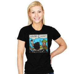 Duel - Womens - T-Shirts - RIPT Apparel
