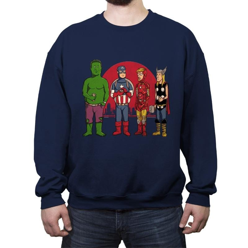 King of the Heroes Reprint - Crew Neck Sweatshirt - Crew Neck Sweatshirt - RIPT Apparel