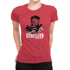 Save The Rebellion Exclusive - Womens Premium - T-Shirts - RIPT Apparel