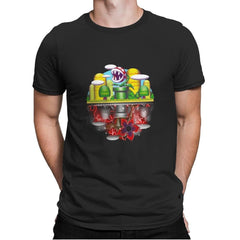 Plant Upside Down - Mens Premium - T-Shirts - RIPT Apparel