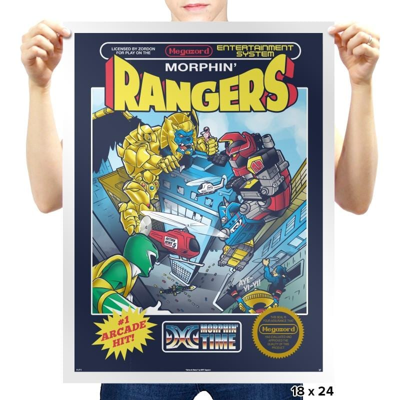 Ranger Rampage Exclusive - Prints - Posters - RIPT Apparel