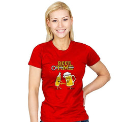 It's Beer Time - Womens - T-Shirts - RIPT Apparel