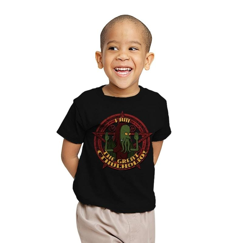 The Great Cthulholio - Youth - T-Shirts - RIPT Apparel