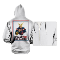 Join U.A. High  - Hoodies - Hoodies - RIPT Apparel
