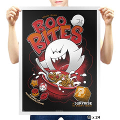Boo Bites - Miniature Mayhem - Prints - Posters - RIPT Apparel