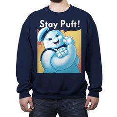 Stay Puft! - Crew Neck Sweatshirt - Crew Neck Sweatshirt - RIPT Apparel