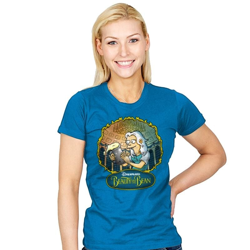 Beauty and the Bean - Womens - T-Shirts - RIPT Apparel