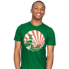 The Great Wave Off Cowabunga - Mens - T-Shirts - RIPT Apparel