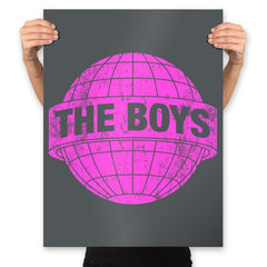 Boys World - Prints - Posters - RIPT Apparel