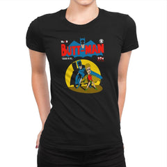 Butt-Man Exclusive - Womens Premium - T-Shirts - RIPT Apparel