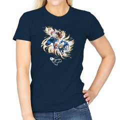 16 Bit Battle - 80s Blaarg - Womens - T-Shirts - RIPT Apparel