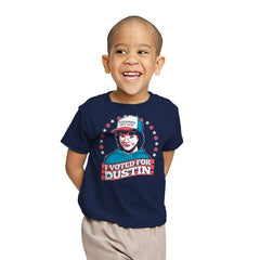 I Voted for Dustin Exclusive - Youth - T-Shirts - RIPT Apparel