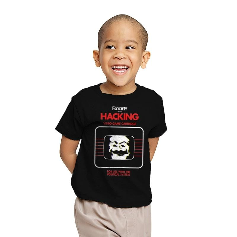 Hacking - Youth - T-Shirts - RIPT Apparel