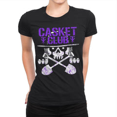 CASKET CLUB Exclusive - Womens Premium - T-Shirts - RIPT Apparel