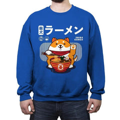 Shiba Ramen - Crew Neck Sweatshirt - Crew Neck Sweatshirt - RIPT Apparel