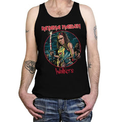 The Katana Maiden - Record Collector - Tanktop - Tanktop - RIPT Apparel