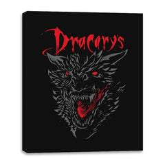 Count Dracarys - Canvas Wraps - Canvas Wraps - RIPT Apparel