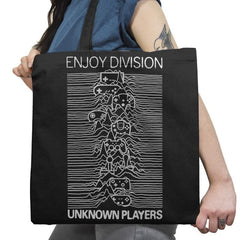 Enjoy Division - Record Collector - Tote Bag - Tote Bag - RIPT Apparel