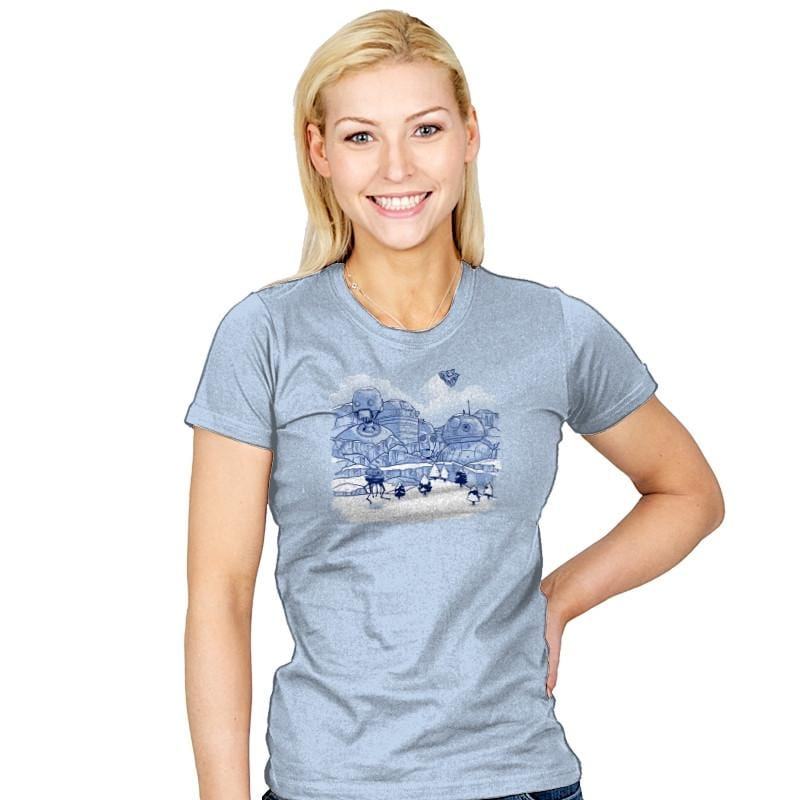 Mt. Droidmore Exclusive - Womens - T-Shirts - RIPT Apparel