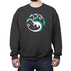House Haku - Crew Neck Sweatshirt - Crew Neck Sweatshirt - RIPT Apparel