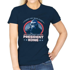 President Kong - Womens - T-Shirts - RIPT Apparel