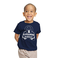 Harambe is my Homeboy - Youth - T-Shirts - RIPT Apparel