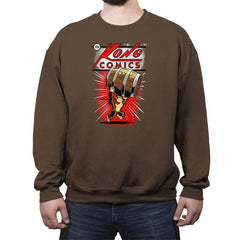 Kong Comics - Crew Neck Sweatshirt - Crew Neck Sweatshirt - RIPT Apparel