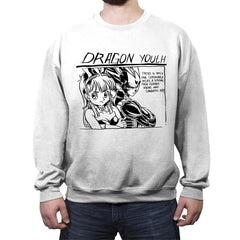Dragon Youth - Crew Neck Sweatshirt - Crew Neck Sweatshirt - RIPT Apparel