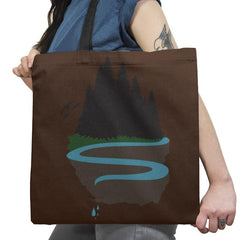 Cliffside Paradise Exclusive - Tote Bag - Tote Bag - RIPT Apparel