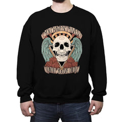 Honorary club of Dead Characters - Crew Neck Sweatshirt - Crew Neck Sweatshirt - RIPT Apparel