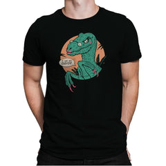 Clever Clever Girl - Mens Premium - T-Shirts - RIPT Apparel