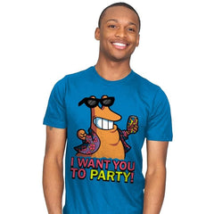 I Want You To PARTY! - Mens - T-Shirts - RIPT Apparel