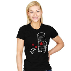 A Flesh Wound - Brick Tees - Womens - T-Shirts - RIPT Apparel