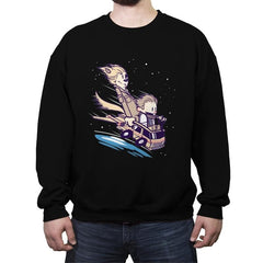 They've gone to Plaid - Crew Neck Sweatshirt - Crew Neck Sweatshirt - RIPT Apparel