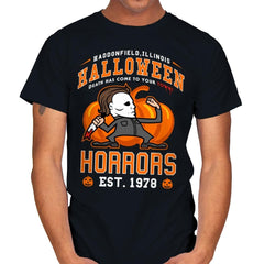 Halloween Horrors - Mens - T-Shirts - RIPT Apparel
