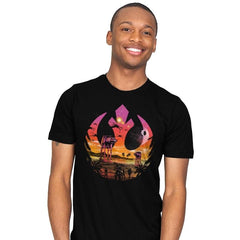 Rebellion Sunset - Mens - T-Shirts - RIPT Apparel