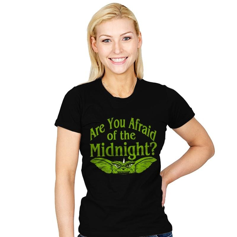 Are you afraid of the Midnight? - Womens - T-Shirts - RIPT Apparel