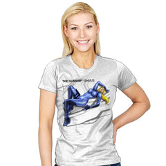 The Gunship: Samus - Record Collector - Womens - T-Shirts - RIPT Apparel