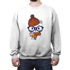 Trendy Cat - Crew Neck Sweatshirt - Crew Neck Sweatshirt - RIPT Apparel