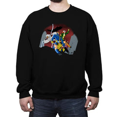 Mutant Adventures - Crew Neck Sweatshirt - Crew Neck Sweatshirt - RIPT Apparel