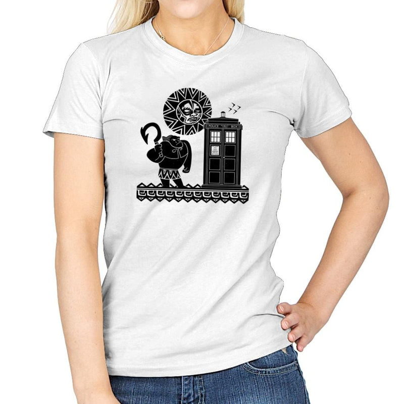 Maui Meets The Doctor Exclusive - Womens - T-Shirts - RIPT Apparel