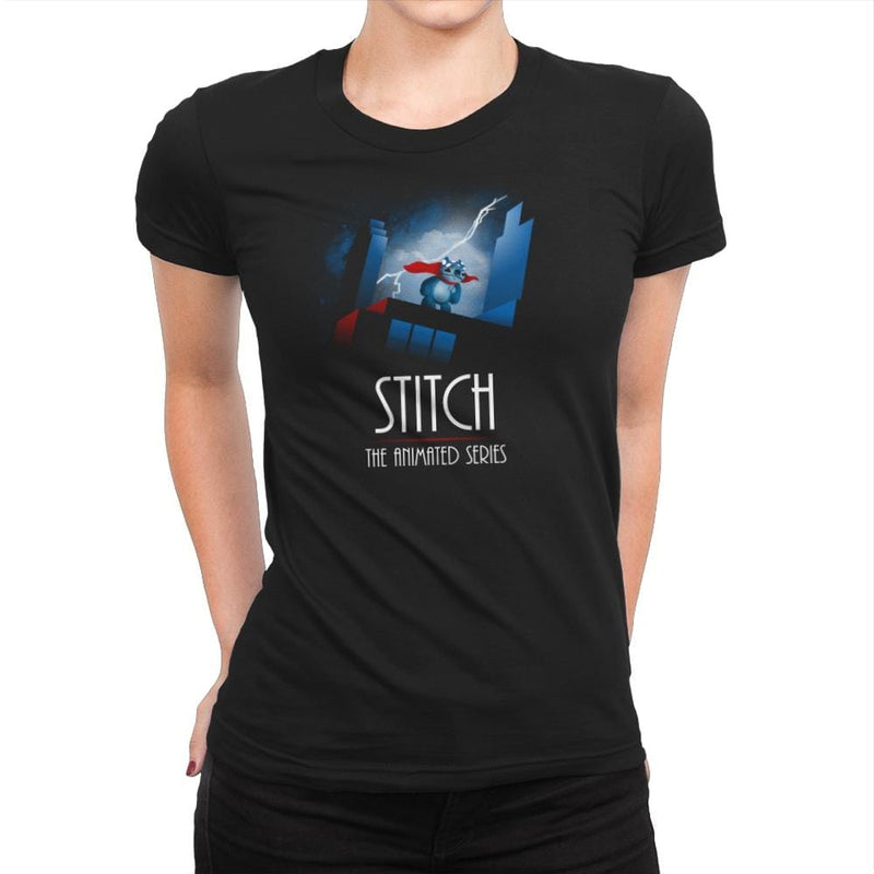 Stitch - The Animated Series Exclusive - Womens Premium - T-Shirts - RIPT Apparel