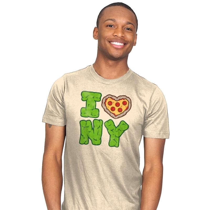 I PIZZA NY - Mens - T-Shirts - RIPT Apparel