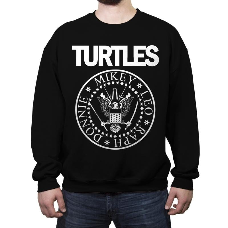 Turtles - Crew Neck Sweatshirt - Crew Neck Sweatshirt - RIPT Apparel