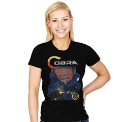 COBRA - Womens - T-Shirts - RIPT Apparel