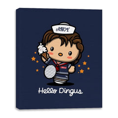 Hello Dingus - Canvas Wraps - Canvas Wraps - RIPT Apparel