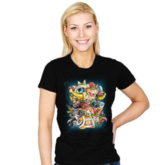 Villains - Womens - T-Shirts - RIPT Apparel